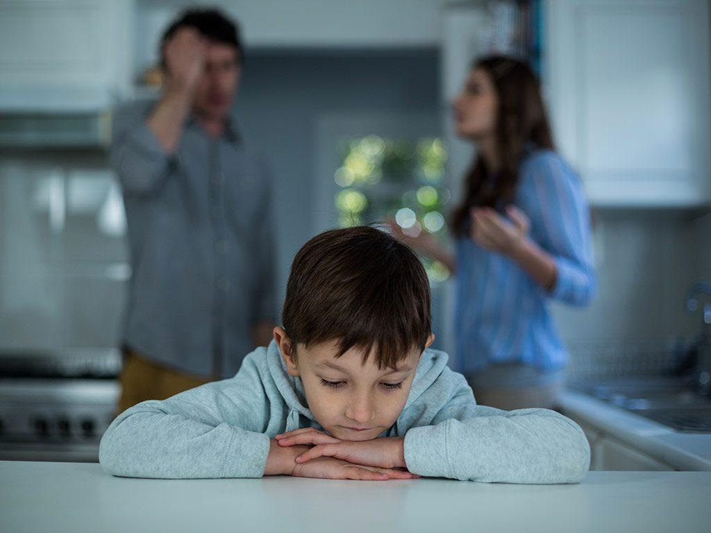 Bambini di genitori separati