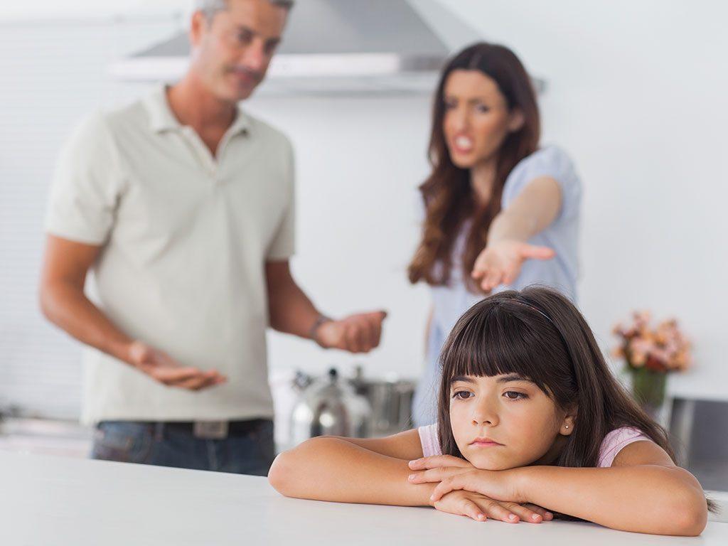 Problemi psicologici nei bambini di genitori separati